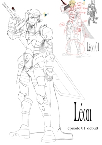 Léon armure test (Nerwèn)